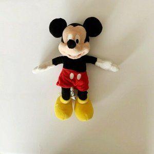 "Original Walt Disney World Mickey Mouse Plush 9"""